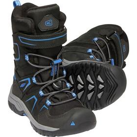 Keen Kids Levo WP Winter Shoes black/baleine blu